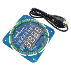 Roterende Digitale LED Display klok Module Alarm